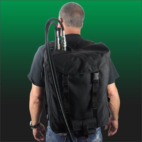 Breacher backpack back