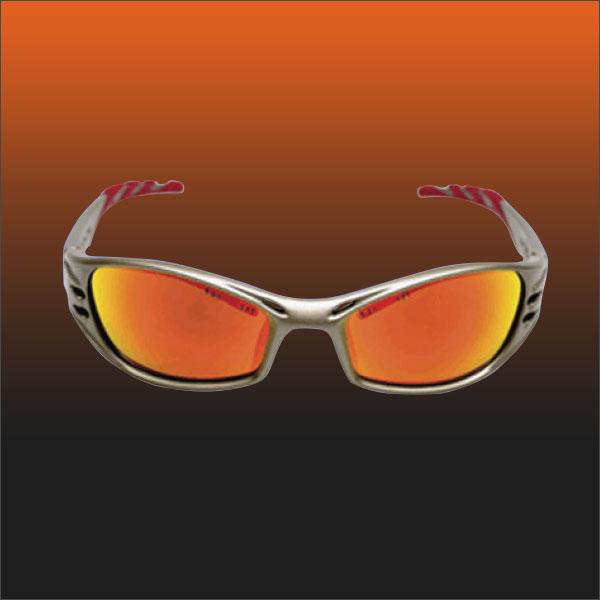 Fuel Safety Glasses (Orange/Gold)