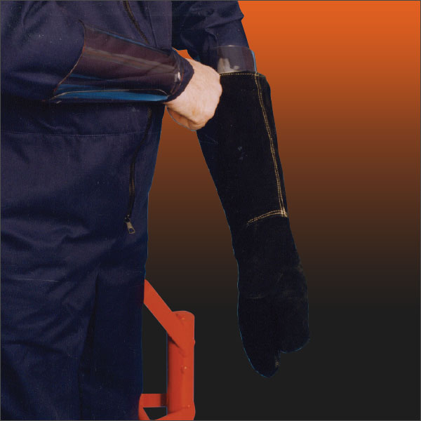 Protective Leather Mitts
