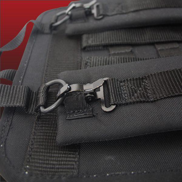 V12 backpack close up handles