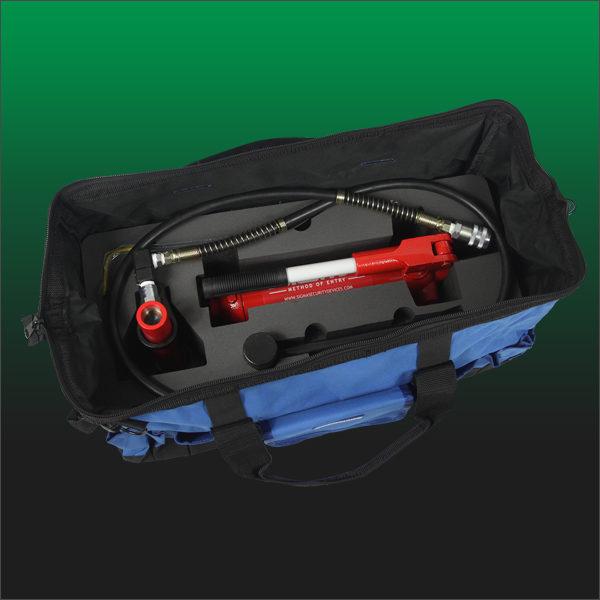 CF3 bag open